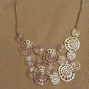 Fun silver necklace
